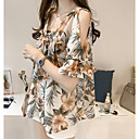 cheap Clutches & Evening Bags-Women's Cotton T-shirt - Geometric Square Neck
