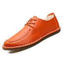 povoljno Muške tenisice-Muškarci PU Jesen Udobne cipele Oksfordice Crn / žuta / Sive boje