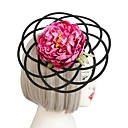 cheap Party Headpieces-Fabrics Hats / Headwear with Floral 1pc Wedding / Special Occasion Headpiece