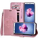 tanie Etui na telefony & Folie ochronne-Kılıf Na Huawei P smart / Enjoy 7S Etui na karty / Z podpórką / Flip Pełne etui Mandala Twardość Skóra PU na P smart / Huawei Enjoy 7S