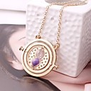 cheap Necklaces-Women's Hollow Out Rolo Pendant Necklace - Letter, Star Dangling Style, Ethnic Cute, Lovely Purple, Blue, Pink 45 cm Necklace Jewelry 1pc For Gift, Club