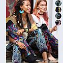 cheap Wedding Shoes-Women's Pocket / Harem / Smocked Waist Yoga Pants - Bule / Black, Black / Orange, Green / Black Sports Floral Print, Bohemian, Hippie Bloomers / Bottoms Belly Dance, Fitness Activewear Lightweight