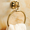 cheap Shower Faucets-Towel Bar New Design / Cool Contemporary Brass 1pc towel ring Wall Mounted