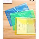 ieftine Organizație-5pcs transparente A4 document de hârtie fișier de depozitare de buzunar organizator de birou