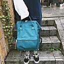 ieftine High School Bags-Pentru femei Genți pânză Geantă Școală Fermoar Gri / Galben / Gri Deschis