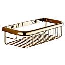 hesapli Banyo Rafları-Banyo Rafı Yeni Dizayn / Havalı Çağdaş Pirinç 1pc Tek Duvara Monte Edilmiş