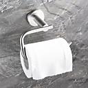 preiswerte Handtuchhalter-WC-Rollenhalter Neues Design / Cool Moderne Edelstahl / Eisen 1pc Toilettenpapierhalter Wandmontage