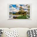 halpa Seinätarrat-Koriste-seinätarrat - Lentokone-seinätarrat / 3D-seinätarrat Maisema Olohuone / Makuuhuone / Kylpyhuone