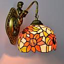 preiswerte Wandleuchten-Retro Wandlampen Wohnzimmer Metall Wandleuchte 220-240V 40 W / E26 / E27
