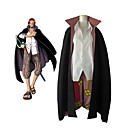 cheap Anime Costumes-Inspired by One Piece Shanks Anime Cosplay Costumes Cosplay Suits Color Block Long Sleeve Blouse / Pants / Cloak For Men's