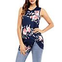 baratos Roupas de Mergulho & Camisas de Proteção-Mulheres Camiseta Básico Estampado, Floral / Geométrica