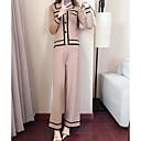 preiswerte Modische Halsketten-Damen Pullover - Gestreift Hose