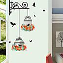 preiswerte Wand-Sticker-Dekorative Wand Sticker - Flugzeug-Wand Sticker / Tier Wandaufkleber Tiere / Blumenmuster / Botanisch Wohnzimmer / Drinnen