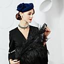 preiswerte Angelschnüre-100% Wolle Hüte mit Blumig 1pc Besondere Anlässe / Party / Abend Kopfschmuck