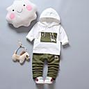 זול סטים של ביגוד לבנים-סט של בגדים שרוול ארוך דפוס בנים ילדים