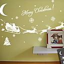cheap Window Film & Stickers-Window Film & Stickers Decoration Christmas Holiday PVC(PolyVinyl Chloride) Glossy