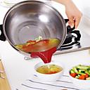hesapli Mutfak Aletleri-Silika Jel Aletler huni Yaratıcı Mutfak Gadget Mutfak Eşyaları Aletleri 1pc