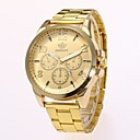 ieftine Oțel Inoxidabil-Bărbați Ceas Elegant Ceas de Mână Quartz Auriu Model nou Ceas Casual Analog Clasic Casual Modă - Auriu Negru Un an Durată de Viaţă Baterie