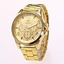 cheap Earrings-Men's Dress Watch Wrist Watch Quartz New Design Casual Watch Alloy Band Analog Casual Fashion Gold - Gold Black One Year Battery Life