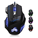 cheap Mouse Pad-Factory OEM Wired USB Gaming Mouse keys Led light 4 Adjustable DPI Levels 6 programmable keys
