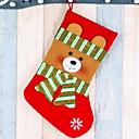 tanie Naklejki ścienne-Pończochy Kreskówki Tkanina bawełniana Kwadrat Nowość Świąteczna dekoracja