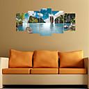 ieftine Acțibilde de Perete-Autocolante de Perete Decorative - Autocolante perete plane / 3D Acțibilduri de Perete Peisaj / Scenic Sufragerie / Dormitor
