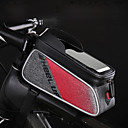 cheap Bike Frame Bags-Wheel up Cell Phone Bag / Bike Handlebar Bag 6 inch Touch Screen, Reflective Cycling for Cycling / iPhone X / iPhone XR Black