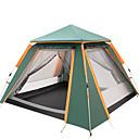 رخيصةأون مفارش و خيم و كانوبي-TANXIANZHE® 4 شخص أوتوماتيكي الخيمة في الهواء الطلق خفة الوزن ضد الهواء مقاوم للأشعة فوق البنفسجية طبقات مزدوجة أوتوماتيكي خيمة التخييم 2000-3000 mm إلى Camping / Hiking / Caving تنزه قماش اكسفورد