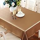 tanie Obrusy-Współczesny PVC Kwadrat Obrusy Geometryczny Dekoracje stołowe 1 pcs