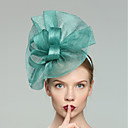cheap Party Headpieces-Flax Fascinators with Solid 1pc Wedding / Special Occasion Headpiece