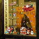 ieftine Acțibilde de Perete-Fereastră de film și autocolante Decor Crăciun Vacanță PVC Autocolant Geam / Shop / Cafenea