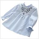 cheap Girls' Clothing Sets-Kids Girls' Print Long Sleeve Shirt