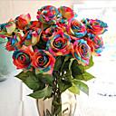 ieftine Flor Artificiales-Flori artificiale 1 ramură Clasic / Single Petrecere / Seară / Nuntă Trandafiri Față de masă flori