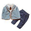 ieftine Pantaloni Băieți-Copii Băieți Mată / Plisat Manșon Lung Set Îmbrăcăminte