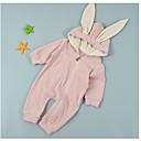 ieftine Set Îmbrăcăminte Bebeluși-Bebelus Fete De Bază Zilnic Mată De Bază Manșon Lung Bumbac / Poliester O - piesă Alb 59