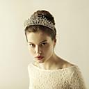 cheap Party Headpieces-Rhinestone Tiaras with Crystals / Rhinestones 1 Piece Wedding / Party / Evening Headpiece