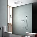 preiswerte Badewannen Armaturen-Duscharmaturen - Moderne Chrom Wandmontage Messingventil