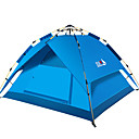 رخيصةأون مفارش و خيم و كانوبي-BSwolf 3 شخص أوتوماتيكي الخيمة في الهواء الطلق ضد الهواء مكتشف الأمطار التنفس إمكانية طبقات مزدوجة أوتوماتيكي خيمة التخييم 1500-2000 mm إلى صيد السمك شاطئ Camping / Hiking / Caving