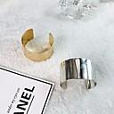 povoljno Modne narukvice-Žene Nakit za gležanj Širok prstenje Klasičan Sa stilom Kreativan Jednostavan pomodan Hiperbola Legura Narukvica Nakit Zlato / Srebro Za Ulica Klub