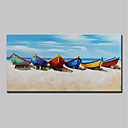cheap Prints-Oil Painting Hand Painted - Landscape / Still Life Modern Canvas