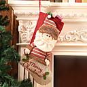 olcso Cookie Tools-Karácsony Rajzfilmfigura Pamut Négyzet Rajzfilm / Újdonságok Karácsonyi dekoráció