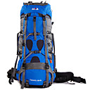 cheap Robe Hooks-BSwolf 85 L Rucksack - Rain-Proof, Wearable, Breathability Outdoor Hiking, Camping, Travel Nylon Sky Blue, Red, Royal Blue