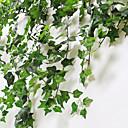 abordables Plantes artificielles-Fleurs artificielles 1 Une succursale Classique Moderne contemporain style pastoral Plantes Guirlande et Fleur Murale