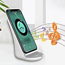 abordables Cables y Cargador-Cargador Wireless Cargador usb USB con el cable / QC 2.0 / QC 3.0 No soportado 1.1 A DC 9V para iPhone X / iPhone 8 / Nokia Lumia 1020