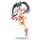 billige Veggklistremerker-Anime Action Figurer Inspirert av Vokaloid Hatsune Miku PVC 21 cm CM Modell Leker Dukke