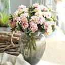 זול פרח מלאכותי-פרחים מלאכותיים 1 ענף קלאסי ארופאי / פסטורלי סגנון חינניות פרחים לשולחן
