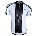 cheap Cycling Jerseys-Nuckily Men's Short Sleeve Cycling Jersey Black / White Bike Jersey Top Breathable Quick Dry Sports 100% Polyester Mountain Bike MTB Road Bike Cycling Clothing Apparel / Advanced / Advanced