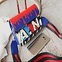 hesapli Çapraz Çantalar-Kadın's Çantalar PU Omuz çantası Tema / Baskı için Günlük / Dışarı Çıkma Havuz / Beyaz / Siyah