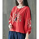 billige Hovedtelefoner-Dame - Geometrisk Basale T-shirt