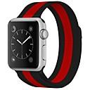 abordables Reloj Smart Accesorios-Acero Inoxidable Ver Banda Correa para Apple Watch Series 3 / 2 / 1 Negro 23cm / 9 pulgadas 2.1cm / 0.83 Pulgadas